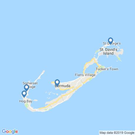 Карта рыбалки – Бермудские острова