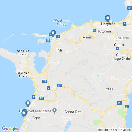 Карта чартеров – Гуам