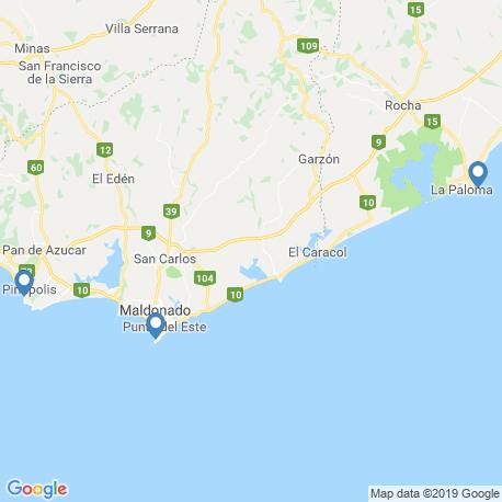 Карта чартеров – Уругвай