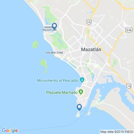 Карта рыбалки – Масатлан