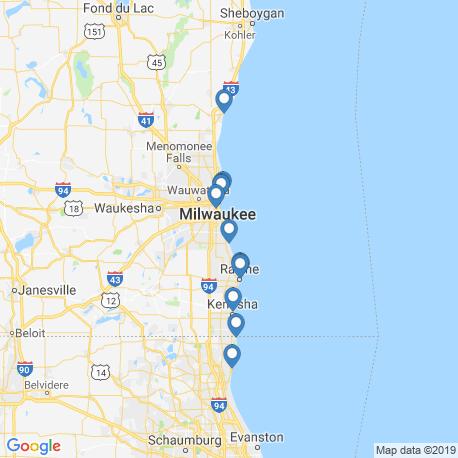Карта рыбалки – Ок-Крик