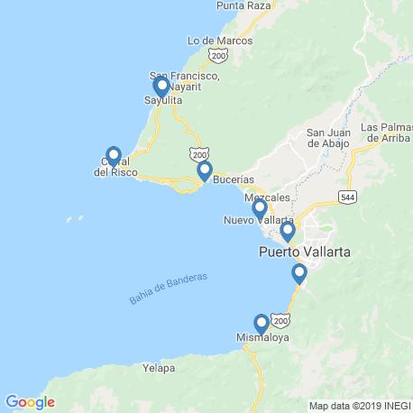 Карта рыбалки – Ла-Крус-де-Уанакакстле