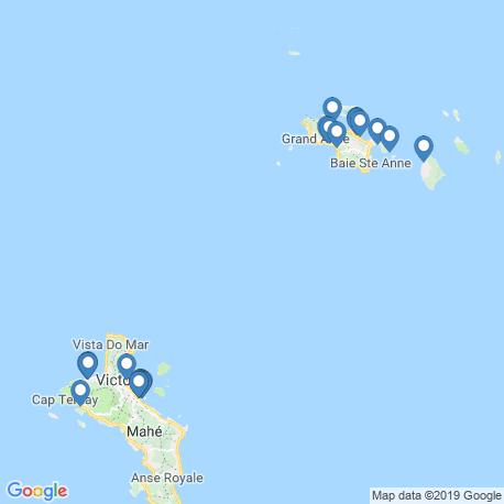Карта рыбалки – Сейшельские острова