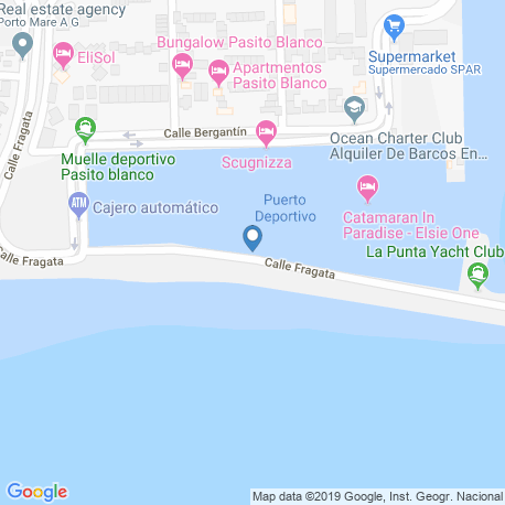 Карта рыбалки – Гран Канария