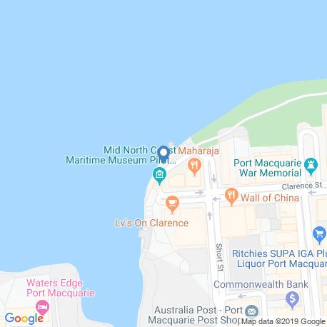 Карта рыбалки – Порт-Маккуори