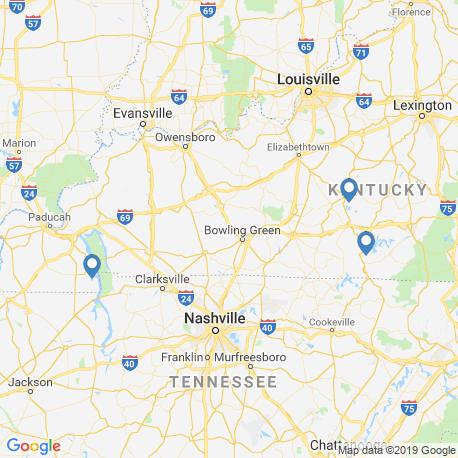 Карта чартеров – Кентукки