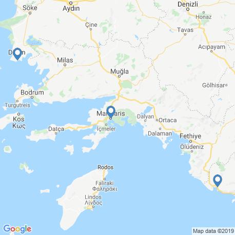 Карта рыбалки – Турция