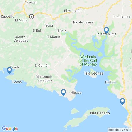 Карта рыбалки – Верагуас