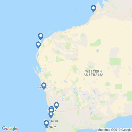 Карта чартеров – Западная Австралия (штат)