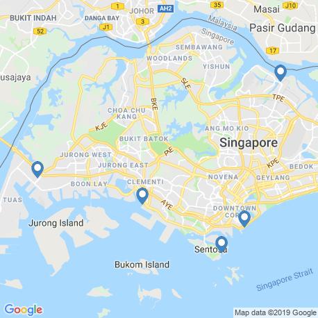 Карта рыбалки – Сингапур