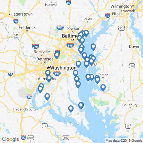 Карта рыбалки – Дил
