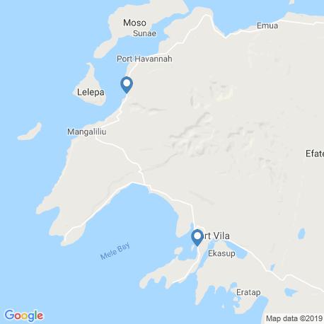 Карта рыбалки – Порт-Вила