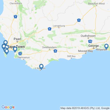 Карта чартеров – Западно-Капская провинция