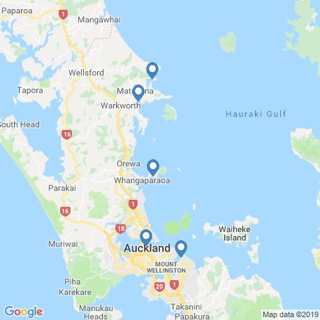 Карта рыбалки – Окленд