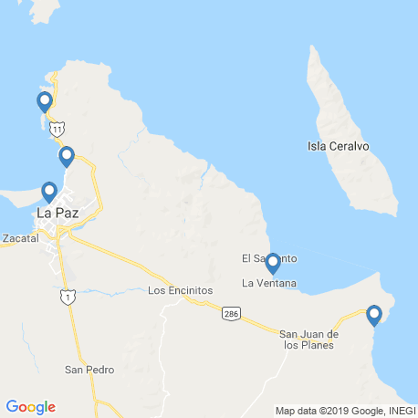 Карта рыбалки – Ла-Пас