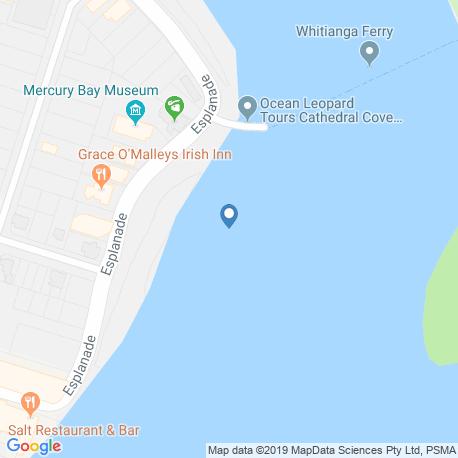 Карта рыбалки – Коромандел