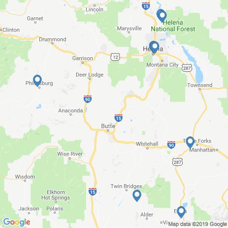 Карта чартеров – Монтана