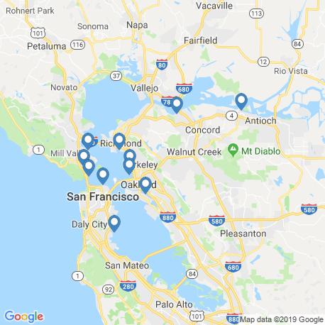 Карта рыбалки – Сан-Франциско