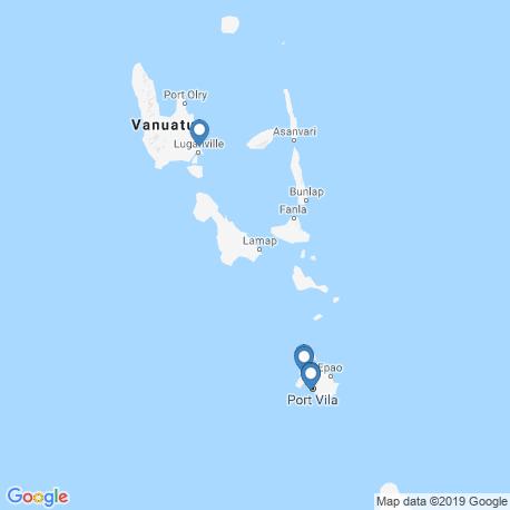 Карта чартеров – Вануату