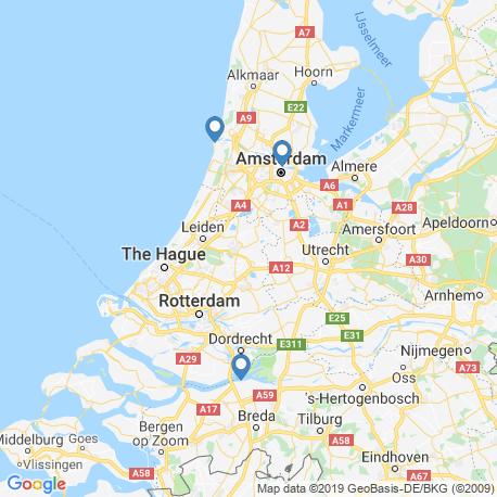 Karte der Angebote in Niederlande