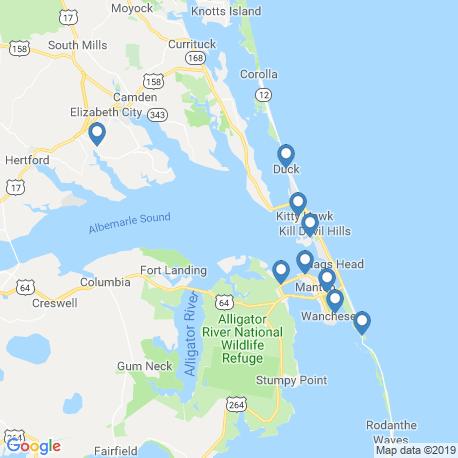 Карта рыбалки – Маннс-Харбор