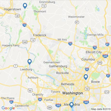 Karte der Angebote in Leesburg