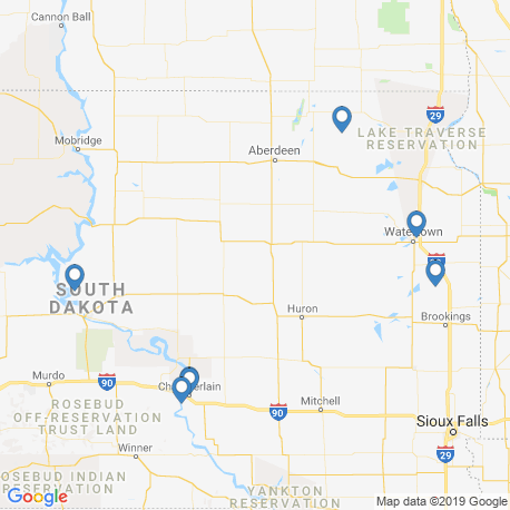 Карта чартеров – Северная Дакота