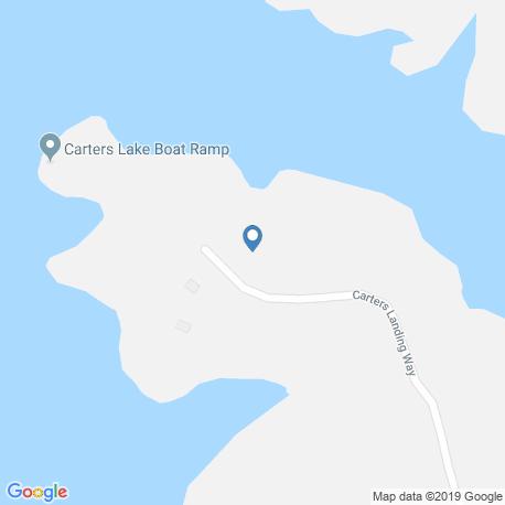 Карта рыбалки – Картерс-Лейк