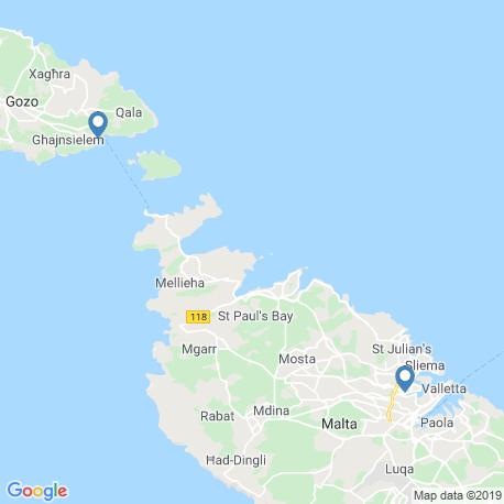 Карта рыбалки – Мсида