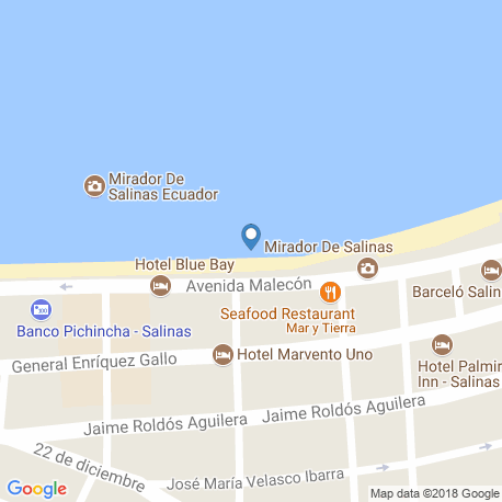 map of fishing charters in Salinas