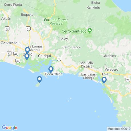 Карта рыбалки – Бока Чика