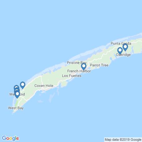 Карта рыбалки – Гондурас