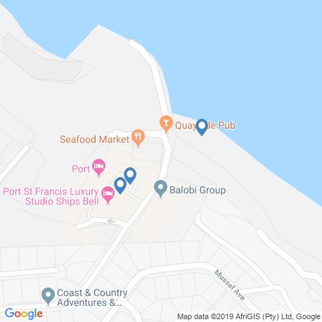 Карта рыбалки – Восточный Кейп