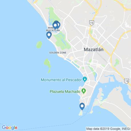 Карта рыбалки – Синалоа