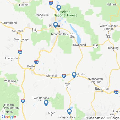Карта рыбалки – Монтана
