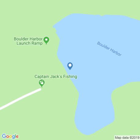 Карта рыбалки – Боулдер-Сити