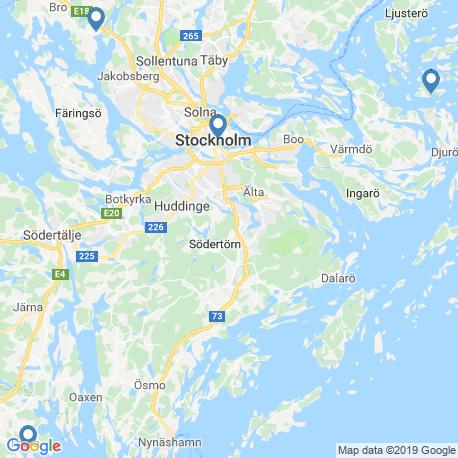 Карта рыбалки – Стокгольмский архипелаг