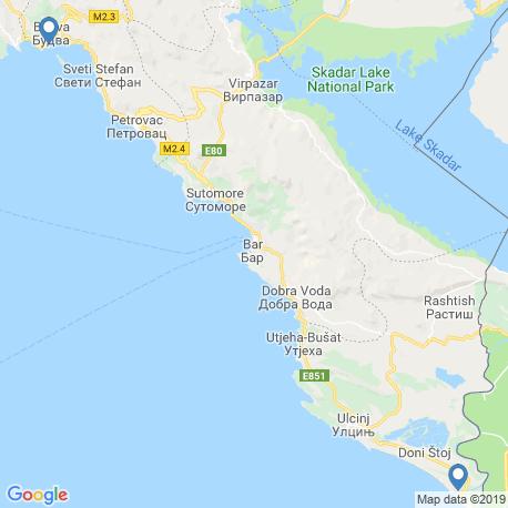 Карта рыбалки – Улцинь
