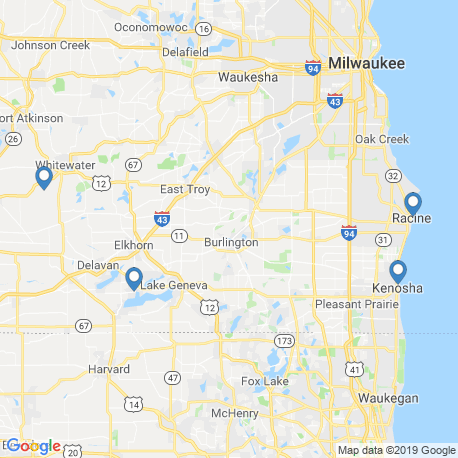 map of fishing charters in Fox River