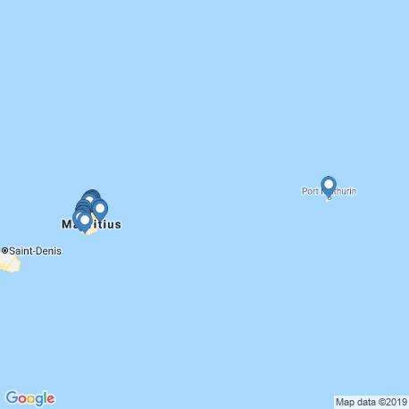 Карта рыбалки – Маврикий