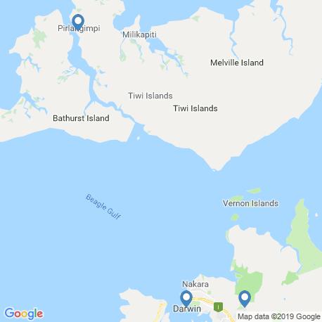 Карта рыбалки – Дарвин