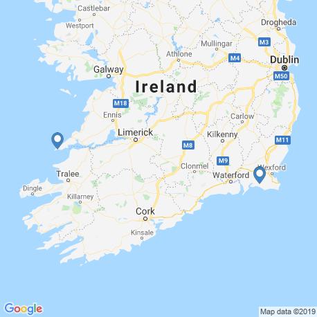 Karte der Angebote in Irland