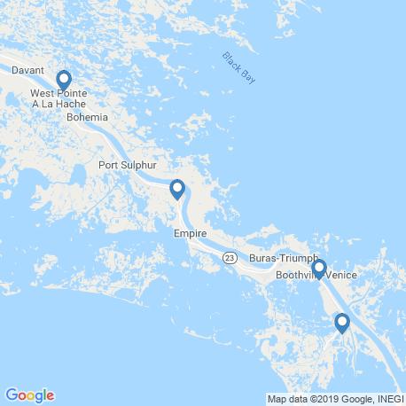 Карта рыбалки – Венис