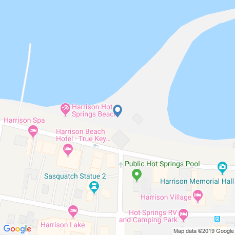 Карта рыбалки – Харрисон-Лейк