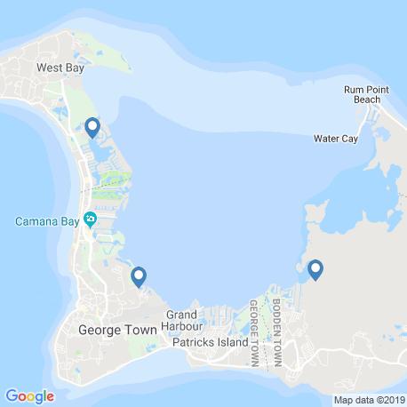 Карта рыбалки – Бодден Таун