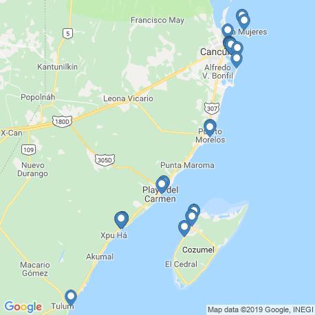 Карта рыбалки – Кинтана-Роо