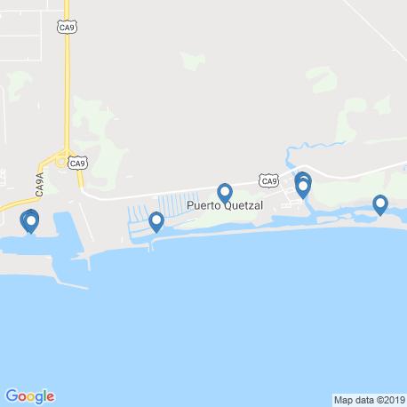 Карта рыбалки – Гватемала