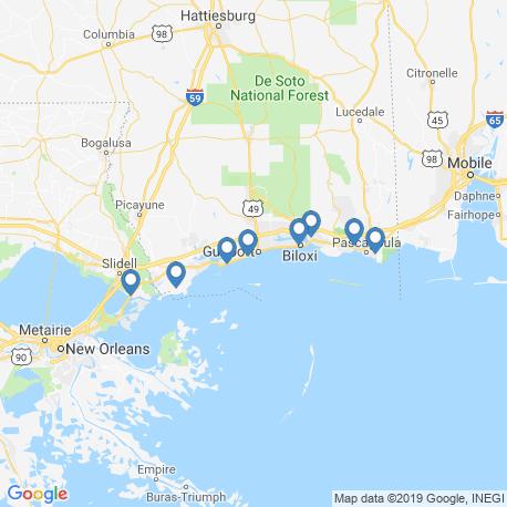 map of fishing charters in Long Beach