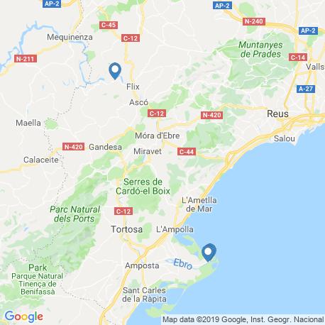 Карта чартеров – Каталония