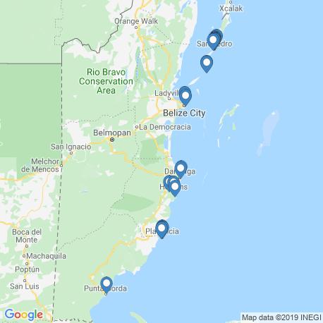 Карта рыбалки – Белиз